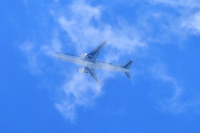 空を飛ぶB767