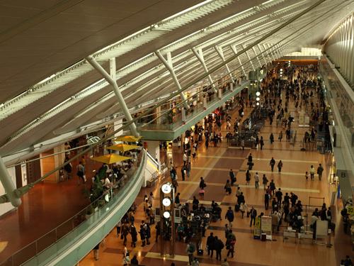 空港の様子