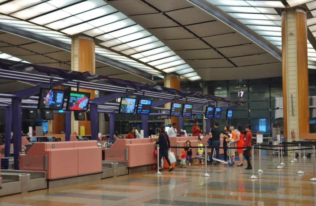 ANA チャンギ空港