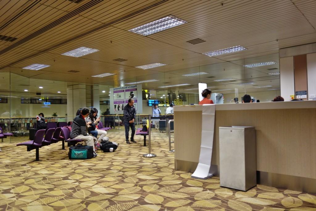 チャンギ空港ターミナル2搭乗口