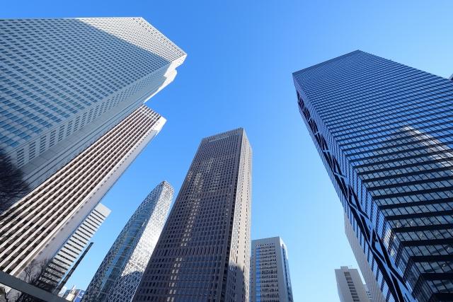 東京の高層ビル