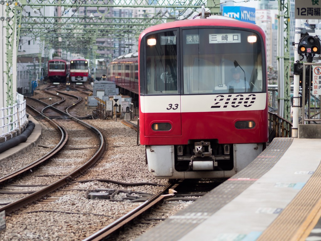 京急の電車