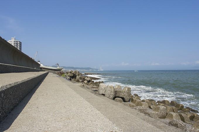 三浦海岸とテトラポット