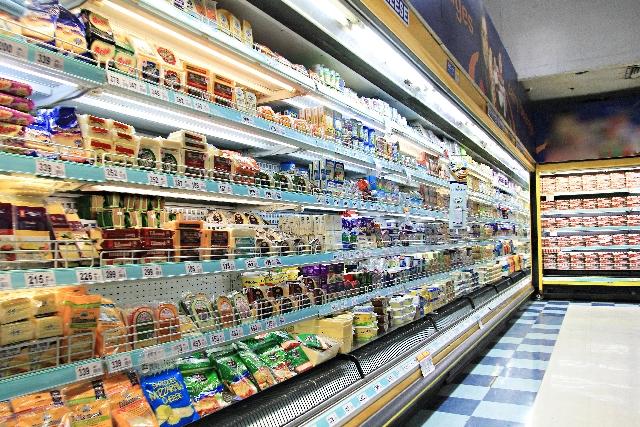 スーパーマーケットで商品購入モニターを実践