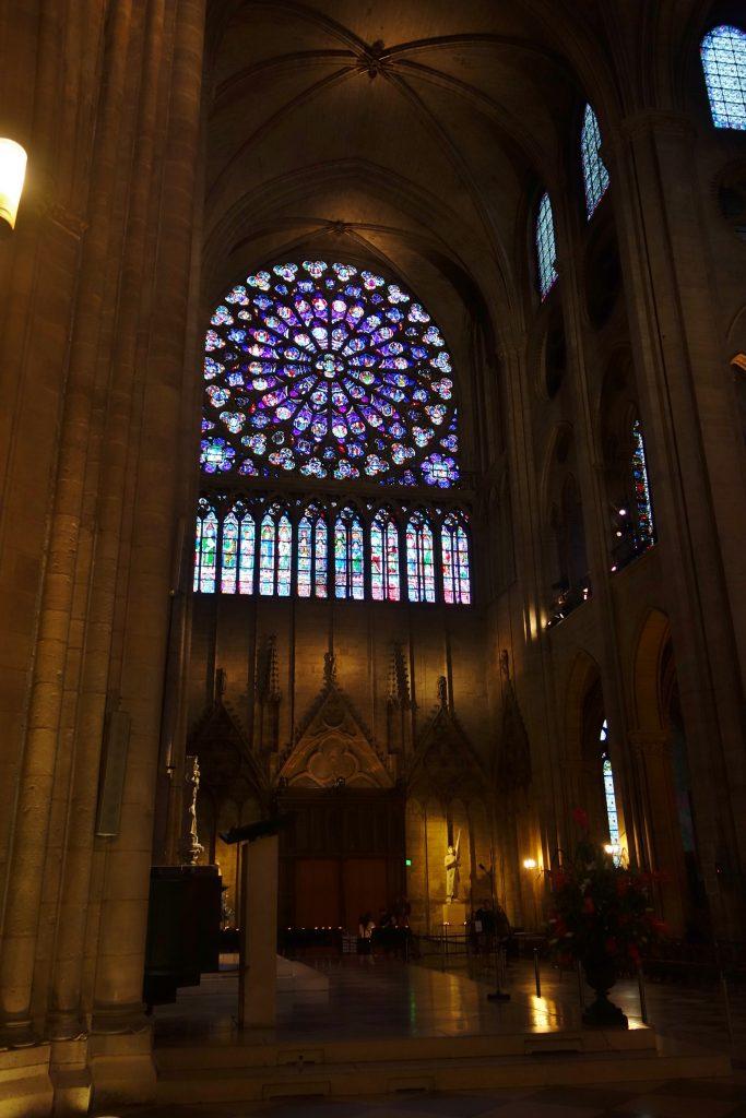 ノートルダム大聖堂 バラ窓