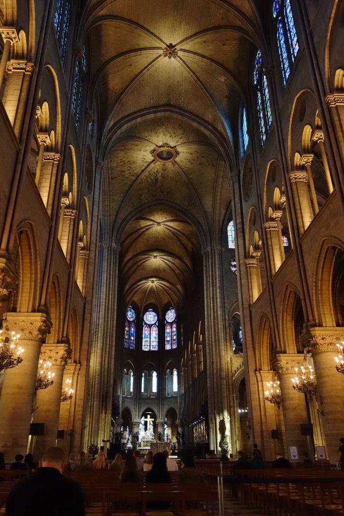 ノートルダム大聖堂回廊
