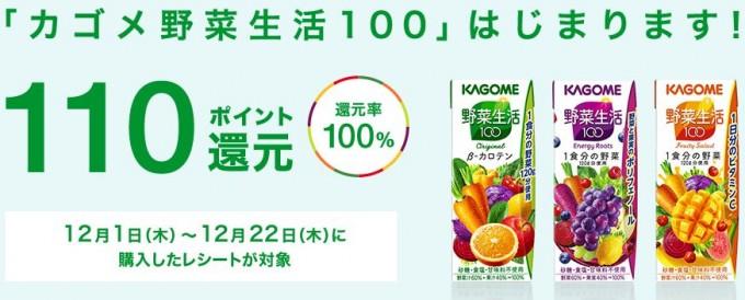レシポの野菜生活100案件45
