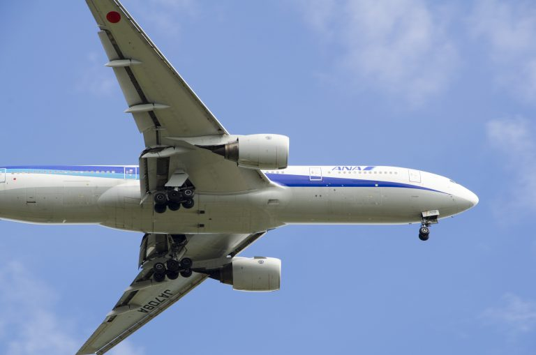 ダイヤ修行で乗るANAの飛行機