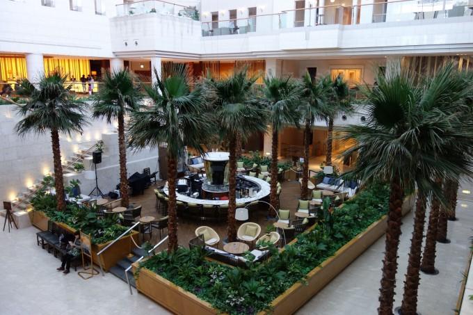 シェラトンオーシャンリゾート1階にあるカフェ