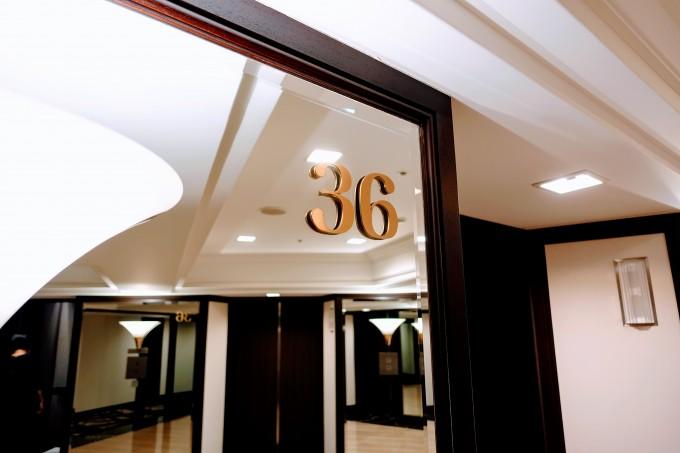 36階エレベーターホール
