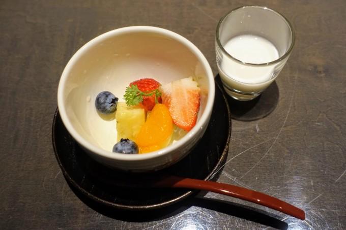 ヒルトン東京和朝食のデザート