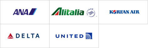ダイナースのマイレージプログラム参加航空会社