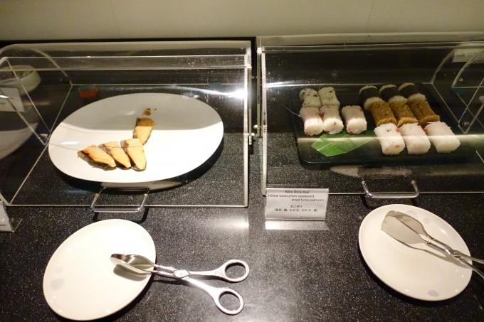 キャセイラウンジ成田和朝食