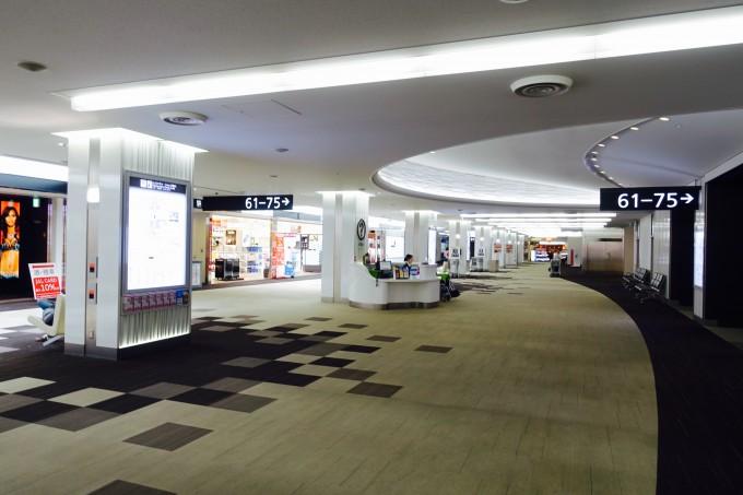 成田空港第2ターミナルサテライト
