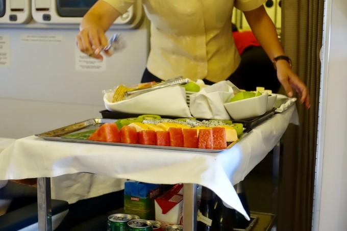 キャセイパシフィック航空ビジネスクラス デザート