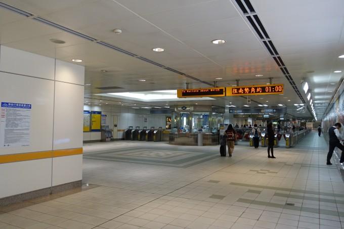 台北メトロ 改札