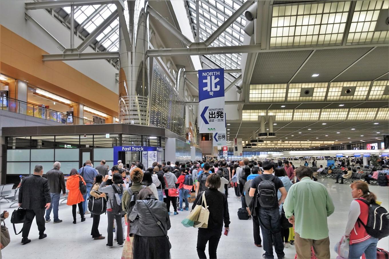 成田空港第2ターミナル北出発口