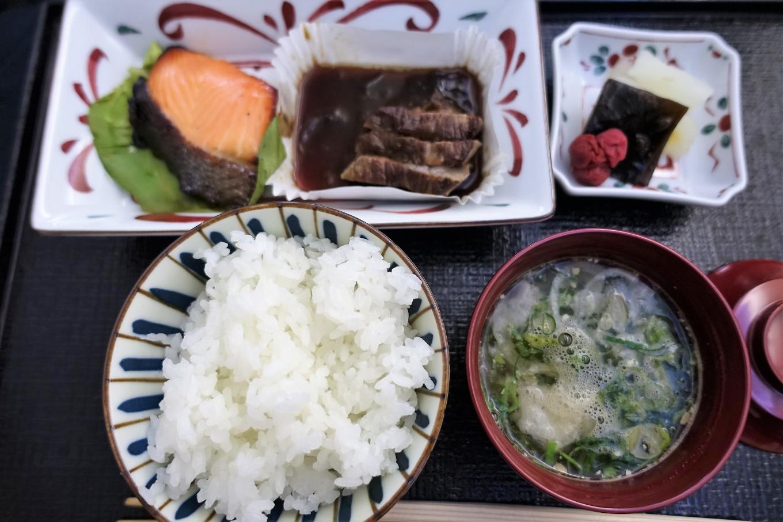 JALビジネスクラス機内食 和食メイン