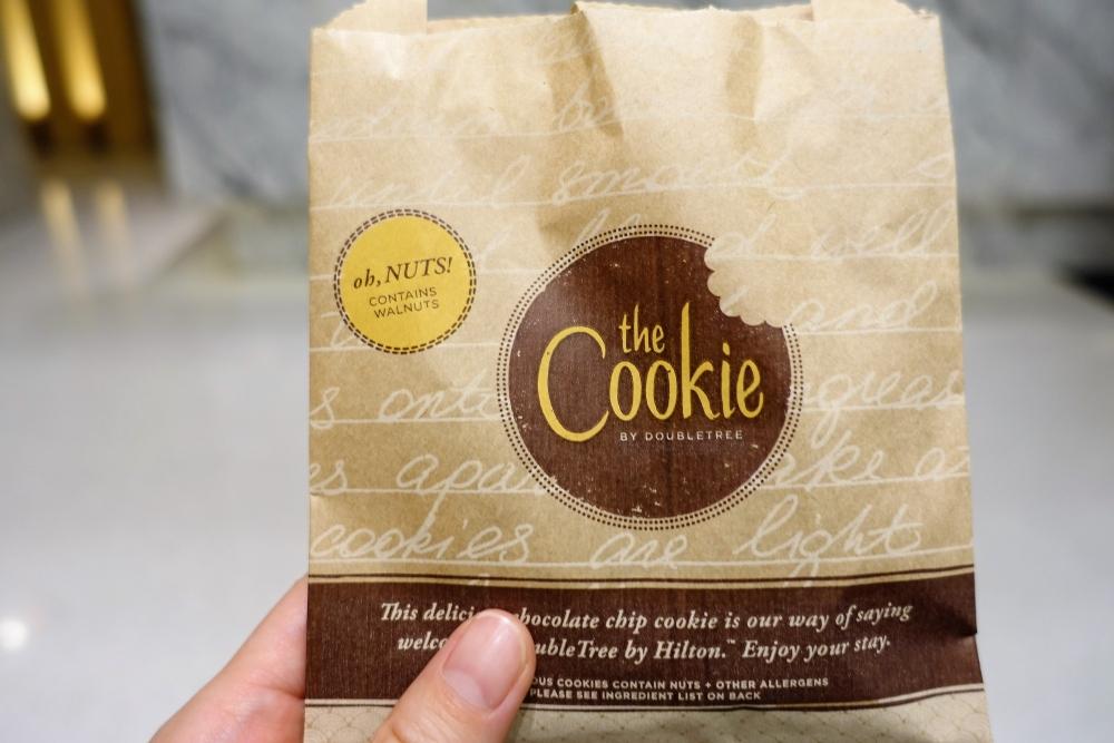 ダブルツリーバイヒルトンクアラルンプール ウェルカムクッキー