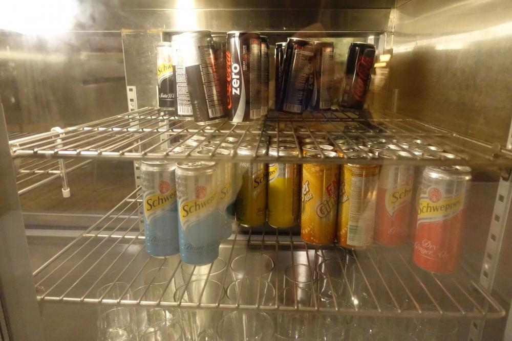 ダブルツリーバイヒルトンクアラルンプール エグゼクティブラウンジ冷蔵庫