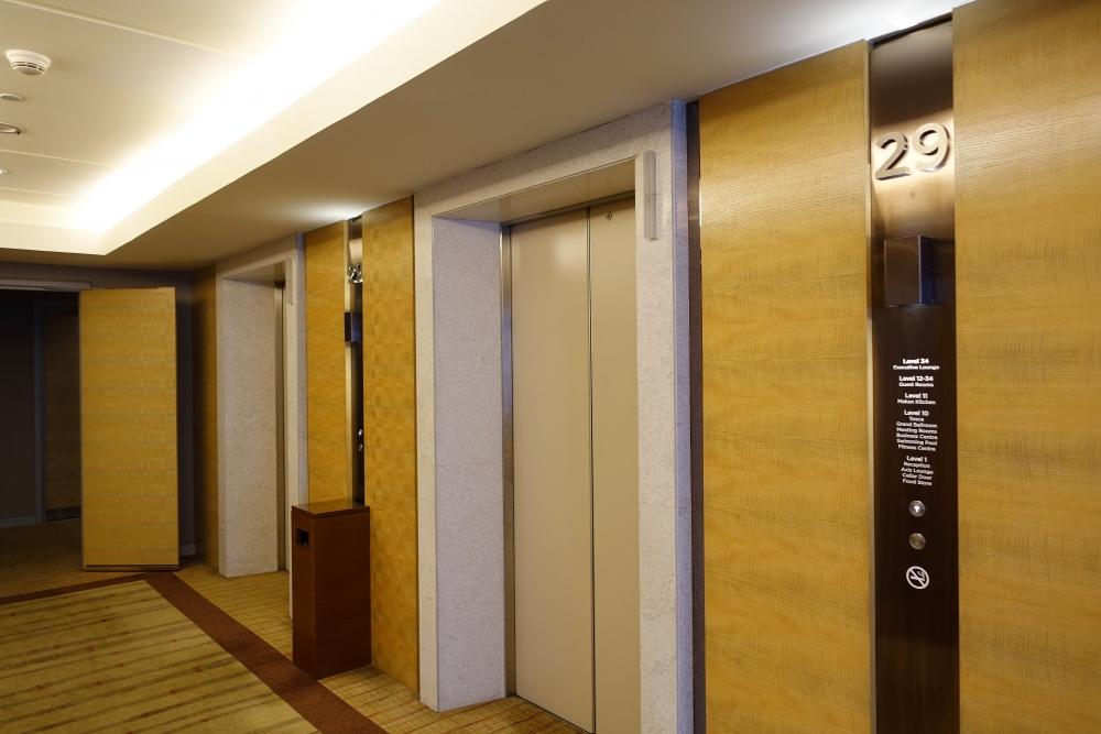ダブルツリーバイヒルトンクアラルンプール 29階エレベーターホール