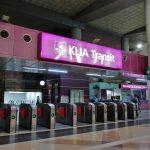 JAL JGC修行2-7:空港行きの電車で失敗しました!JALビジネスクラスで行くマレーシア修行 完結編