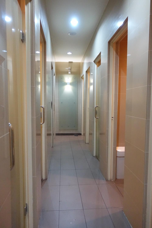 クアラルンプール国際空港マレーシア航空ラウンジサテライト シャワー
