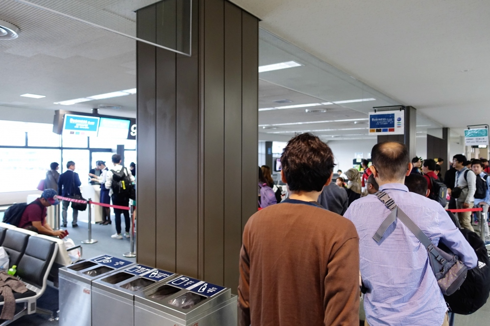 成田空港第1ターミナル92番搭乗口