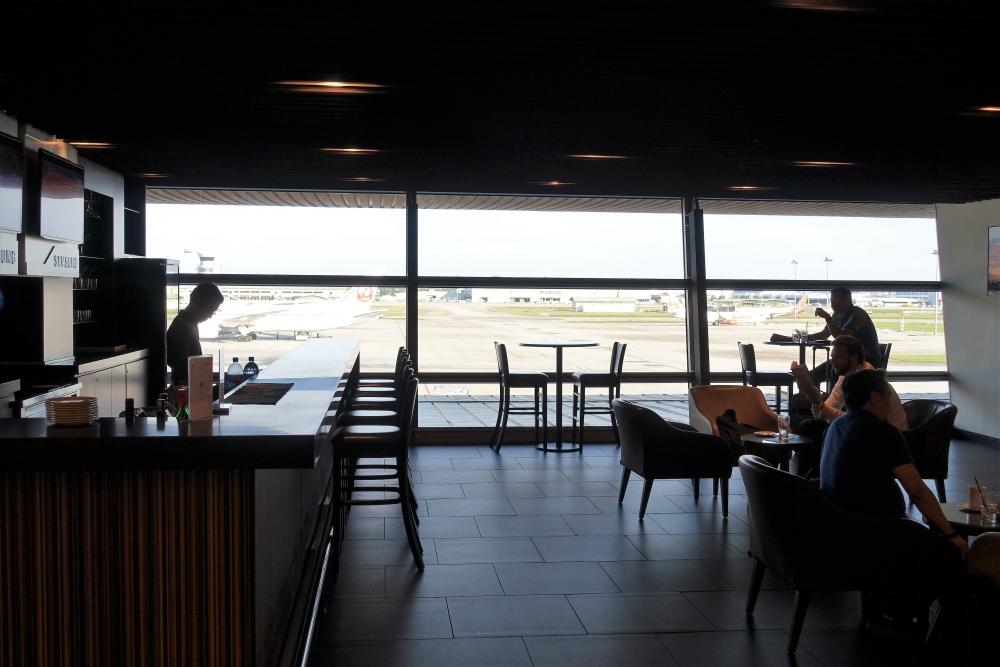 クアラルンプール国際空港マレーシア航空ラウンジサテライト バー