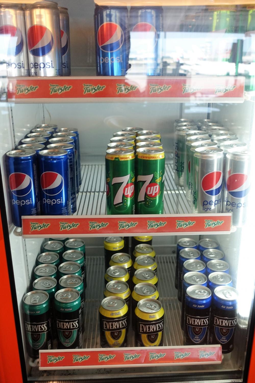クアラルンプール国際空港マレーシア航空ラウンジサテライト 冷蔵庫