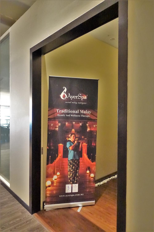 クアラルンプール国際空港マレーシア航空ラウンジサテライト スパ