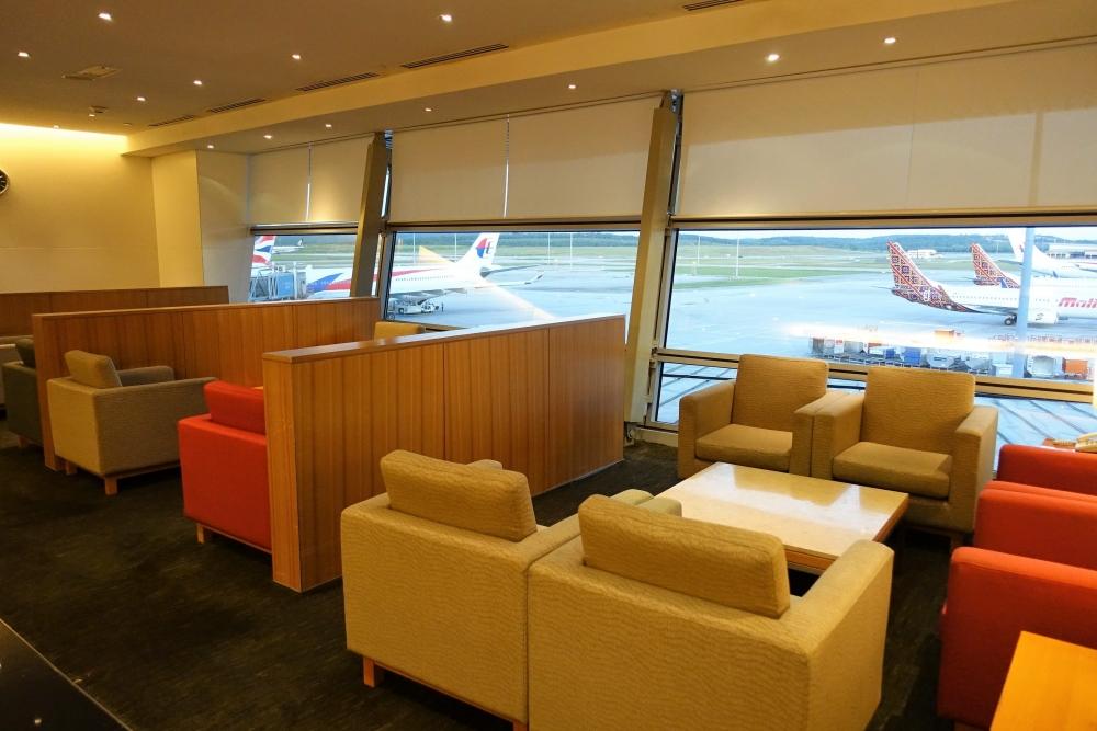 クアラルンプール国際空港キャセイパシフィック航空ラウンジ