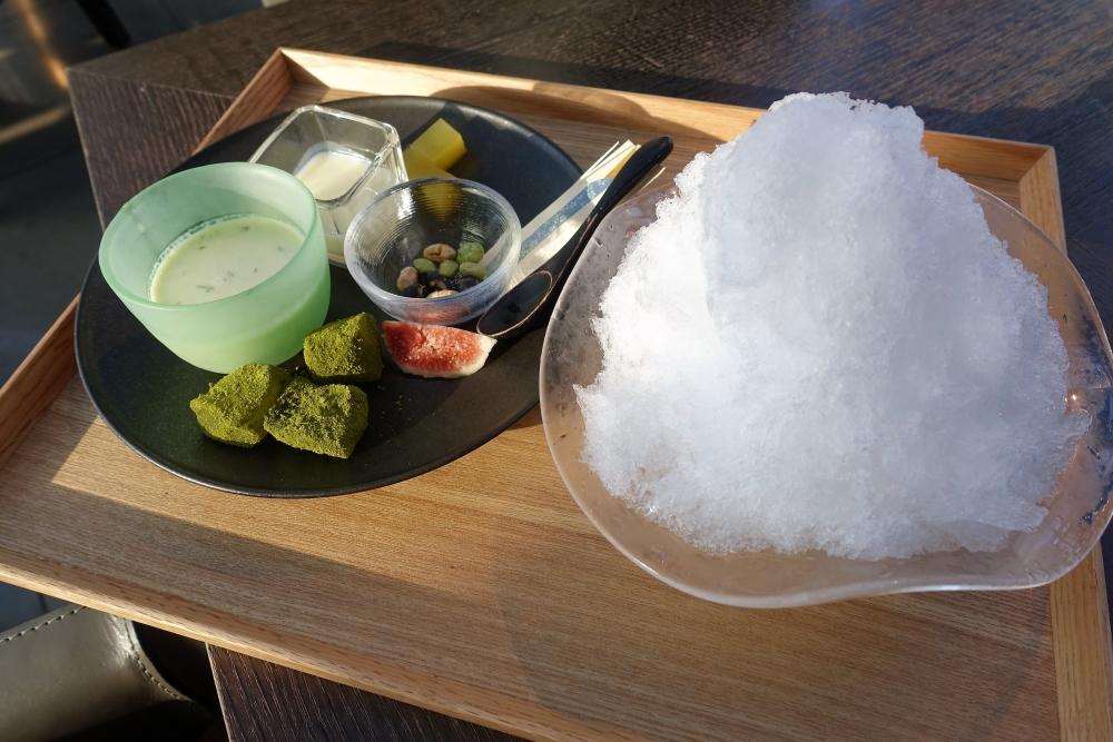 2017年GREENカフェ かき氷