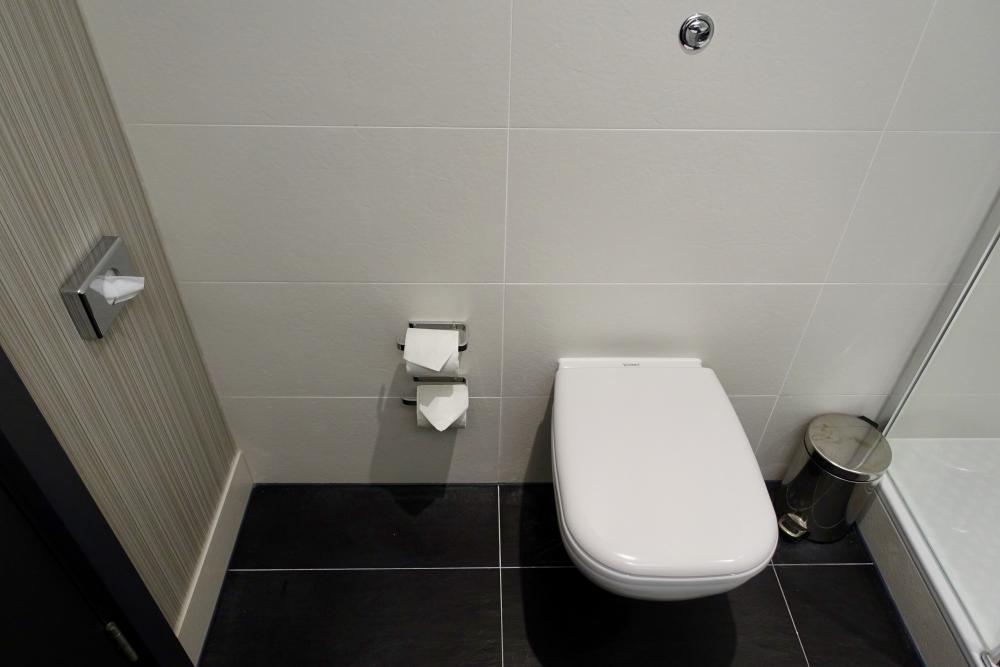 ヒルトン・ロンドン・ヒースローエアポートトイレ