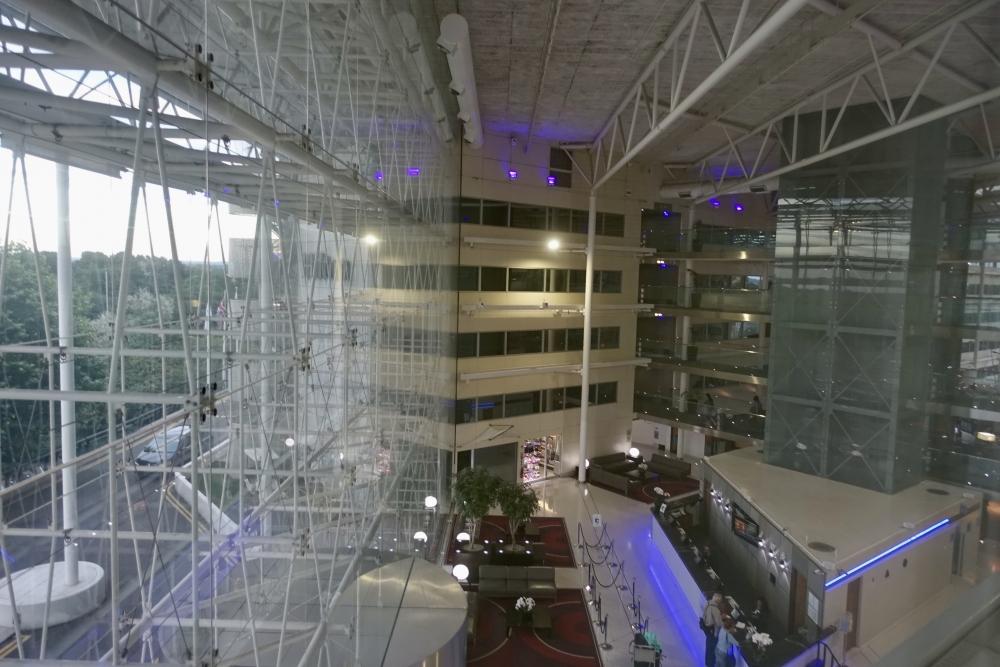 ヒルトン・ロンドン・ヒースローエアポート 客室からの眺め
