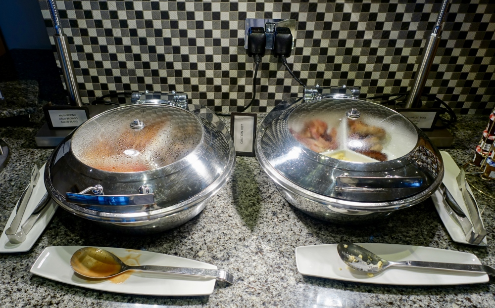ヒルトン・ロンドン・ヒースローエアポート ラウンジ朝食