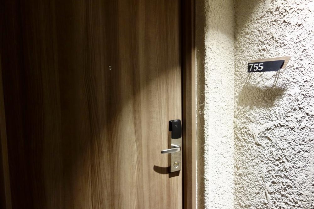 伊豆マリオットホテル修善寺 温泉付きスーペリアルームの入口