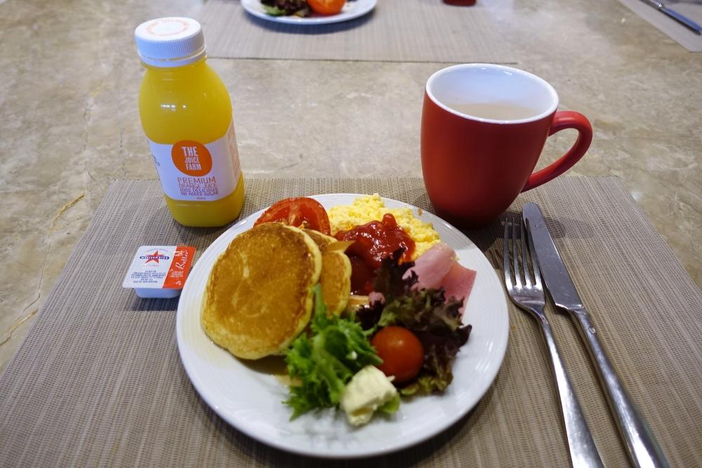シドニーマリオット エグゼクティブランジ 朝食