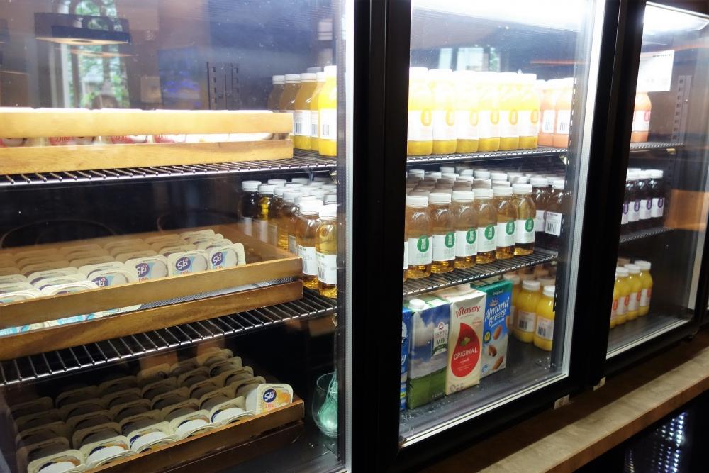 シドニーマリオット エグゼクティブランジ 冷蔵庫