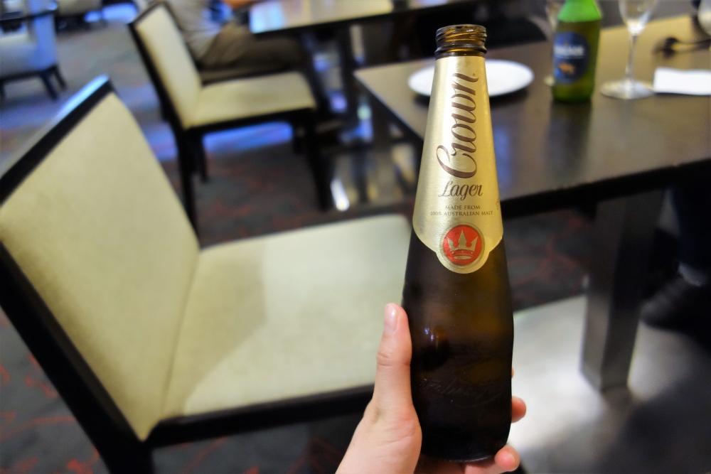 シドニーマリオット エグゼクティブラウンジ ビール