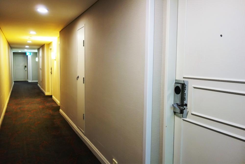 シドニーマリオット 27階廊下