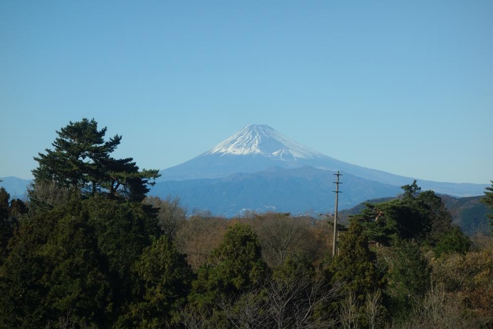 伊豆マリオット修善寺 お部屋から見た富士山