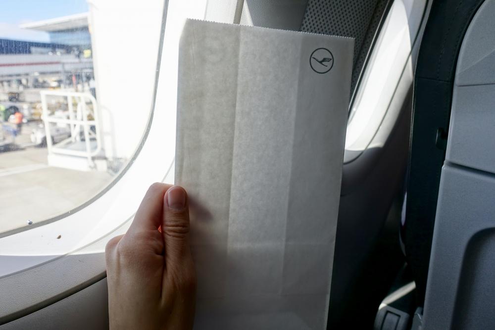 ルフトハンザドイツ航空 エチケット袋