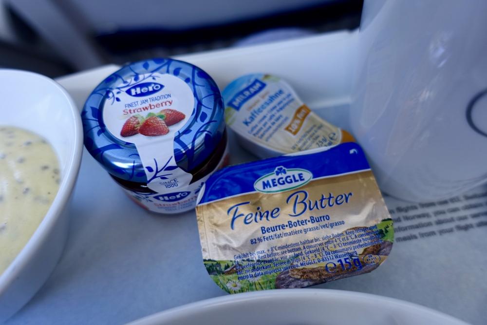 ルフトハンザドイツ航空 ビジネスクラス機内食