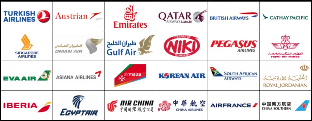 DO&COの提携航空会社