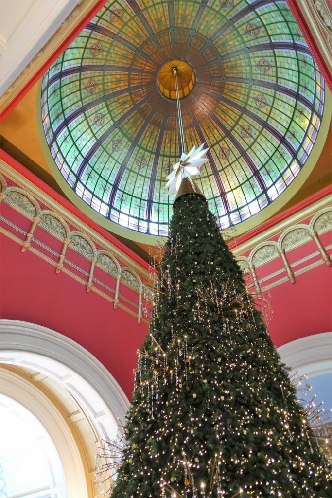 シドニー クイーンヴィクトリアビルディング クリスマスツリー