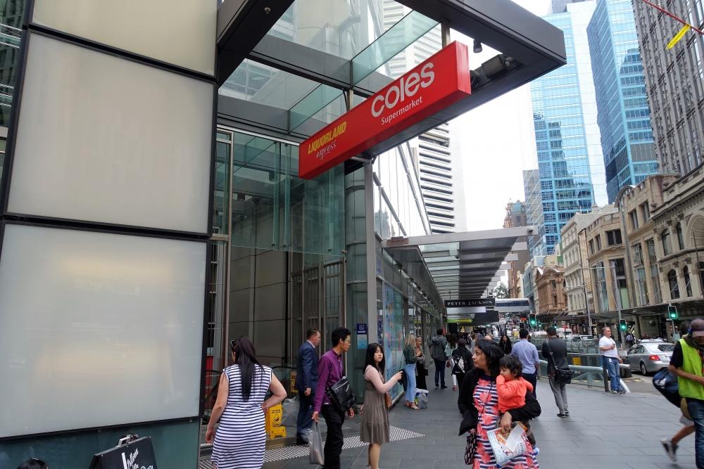 シドニー スーパー COLES