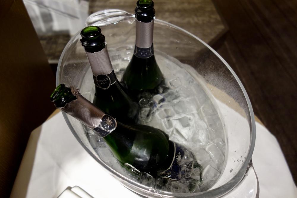 ヒルトン福岡シーホーク カクテルアワー 白ワイン