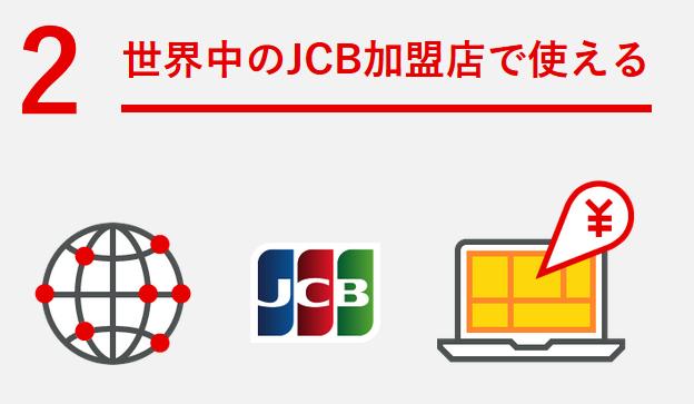 三菱東京UFJ-JCBデビッドカードの特徴その2