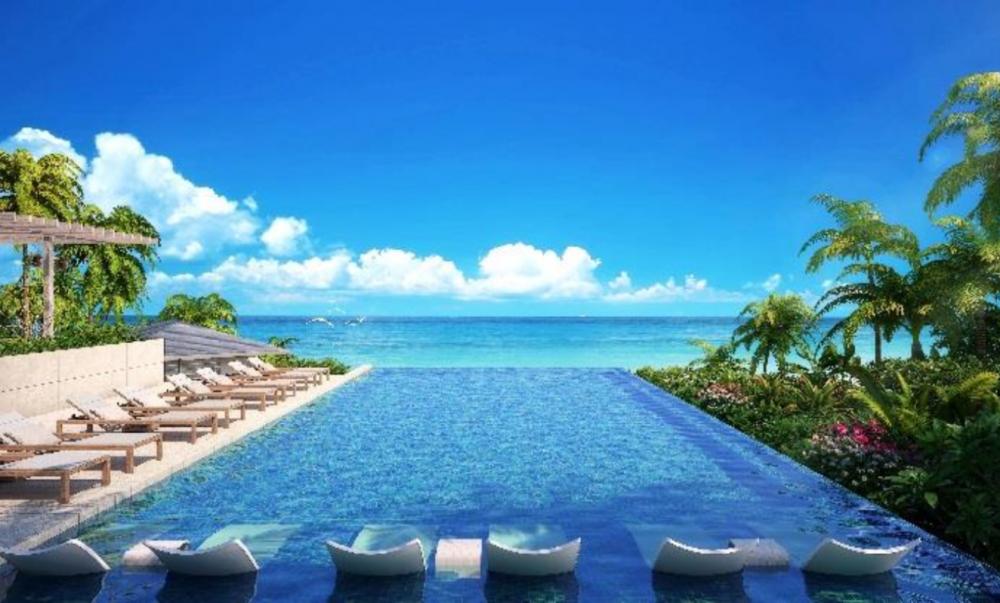 イラフ 翠(SUI) ラグジュアリーコレクションホテル 沖縄宮古から見える海